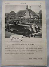 1946 Jaguar Original advert No.2