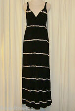 BEAUTIFUL LUCKY BRAND BLACK&WHITE MAXI DRESS size M (AUS 10/12)