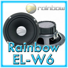 Rainbow EL-W6 ExperienceLine 16,5cm Mitteltöner Kickbass Tieftöner EL-W 6