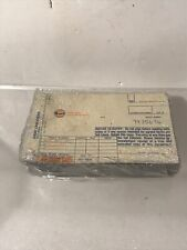100 Vintage Unused Gulf Oil Gas Station Credit Card Slips Dated 7/85 Sealed