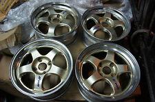 "JDM 17"" Work Meister S1 wheels rims 4x114.3 dc2 cd6 professor ssr cb3 accord sv4"