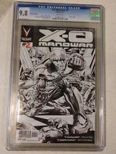 Valiant Entertainment: X-O Manowar 2 second print Lozzi CGC 9.8 w 2012 FREE SHIP