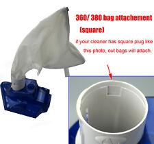 all purpose Filter bag for polaris 360 380 bag pool debris in bag 2 pack