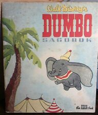 Walt Disney's, DUMBO Sagobok Aktiebolaget alga Stockholm 1956