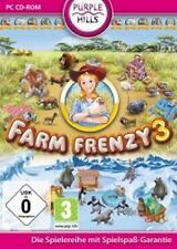 FARM FRENZY 3 Exotische Fortsetzung des Kult Spiels GuterZust.