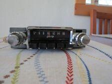 Vintage Kaiser Jeep Radio
