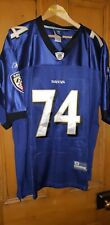 NFL Baltimore Ravens Reebok NFL Players Jersey Michael Oher No.74 Size 52 NEW