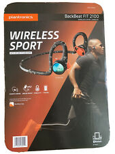 Plantronics BackBeat Fit 2100 Wireless Waterproof Workout Bluetooth Headphones