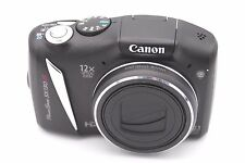 Canon PowerShot SX130 IS 12.1 MP Digital Camera - Black