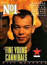 Roland Gift on Magazine Cover 1 February 1986   Annie Lennox  Mister Mr  Madonna