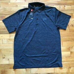 Men's UA Under Armour Playoff Feeder Heather Polo Size Large