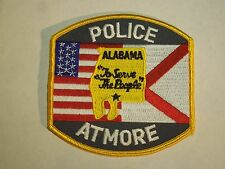 Atmore Police Alabama Shoulder Iron On Patch
