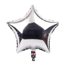 "5Pcs 18"" Foil Star Balloons Helium Wedding  Birthday Party Baby Shower Decor Lot"