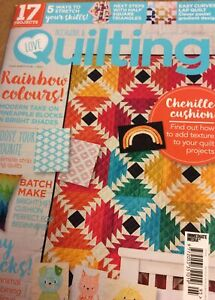 Love Patchwork and Quilting Magazine Issue 95 Magazine Only