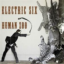 ELECTRIC SIX Human Zoo LIMITED LP ORANGE VINYL 2014