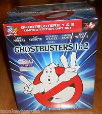 Ghostbuster & Ghostbusters II 2 Limited Edition Gift Set Digibook Blu-ray Slimer