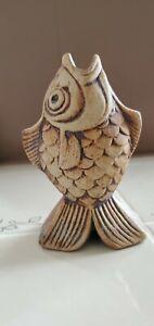 Quantock Pottery FISH Pie Bird/Funnel England