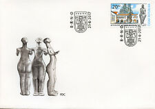 Czech Republic 2017 FDC Moravian Museum 200 Yrs 1v Set Cover Architecture Stamps