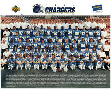 1994 SAN DIEGO CHARGERS TEAM 8X10 PHOTO