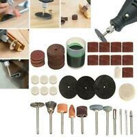 60mm Diamond Cutting Disc Set /& Drill Bit For Rotary Tool Q3J0 Glass Metal E2P2