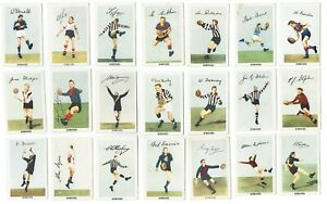Kornies 1951 Footballers in Action VFL - Pick the cards you need - VGC-EXC
