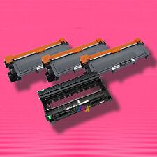 4P TONER & DRUM UNIT for BROTHER TN660 DR630 MFC-L2700DW MFC-L2720DW MFC-L2740DW