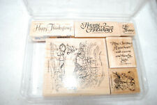 Stampin Up * Retired * Sleigh Ride- Pre-Owned -