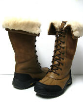 UGG ADIRONDACK WOMEN WINTER TALL BOOTS OTTER US 7 / UK 5.5 /EU 38 /JP 24