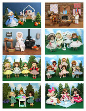 Vintage Ginny Doll 'Fairy Tales & More'' Greeting Cards