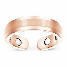 Smarter LifeStyle Elegant Titanium Magnetic Therapy Ring, Pain Relief