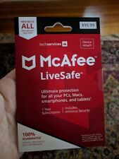 McAfee 1 Year UNLIMITED Devices - Free Shipping