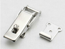 "3"" Self Locking Stainless Steel Draw Latch with Spring Toggle Latch"