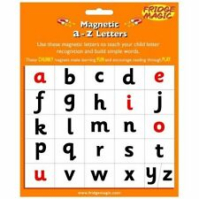 Fridge Magic Magnetic A to Z Letters Magnet Set / Literacy Learning m4