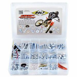 kit viti plastiche Honda Cr 125 250 2000 2007 Crf 250 450 2002 2020 set Bolt