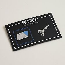 Mass Effect Andromeda Initiative Pin + Pre-Order Pin - Loot Crate - NEW SEALED