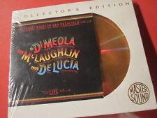 "AL DI MEOLA "" FRIDAY NIGHT IN SAN FRANCISCO "" (SONY-24KARAT-GOLD-CD/SEALED)"