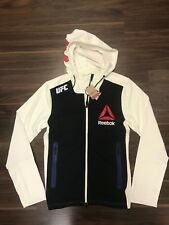 UFC REEBOK COMBAT X WALK ON HOODED HOODY TRAINING SWEATSHIRT MENS SMALL NEW NWT