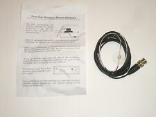 WORKMAN SC1 SCANNER SUCTION CUP WINDOW MOUNT ANTENNA w/ 7Ft CABLE & BNC PLUG