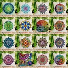 Mandala Style Floral Cushion Cover Throw Pillow Case Car Sofa Chair Home Decor