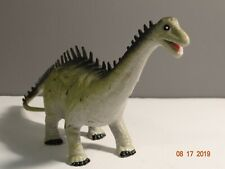 2004 K & M Diplodocus Green / Grey Dinosaur Toy Figure
