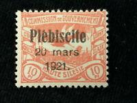 Deutsches Reich Deutsche Abstimmungsgebiete Oberschlesien 1921 - MiNr.30 geprüft