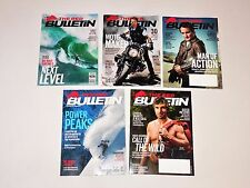 Red Bulletin Magazine - Lot of 5 Issues (no address labels) Back Issues NEW