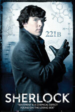 Sherlock poster solo - SENTIMENT IS A CHEMICAL DEFECT - BBC TV series poster