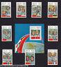 Laos - 1983 Cosmonauts - U/M - SG 636-44 + MS645