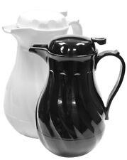 Boxed Insulated Tea Pot Coffee Pot Server Black or White 17.5oz 40oz 64oz