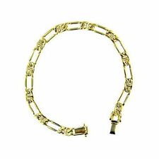 Unbranded Men's Yellow Gold Bracelets without Stone