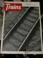 Trains Magazine September 1968 Issue
