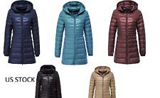 New women duck down jacket ultra light packable puffer jacket coat multicolors