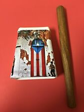Hand Held Cowbell, Puerto Rico Design With Cowbell Beater.