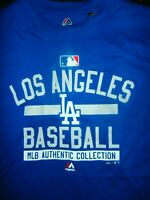 LA LOS ANGELES MLB BASEBALL AZ NEW MAJESTIC T-SHIRT MENS 3XL